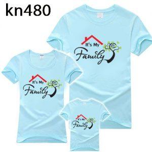 áo gia đình mùa hè