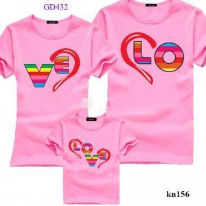 áo đồng phục cho cả gia đình