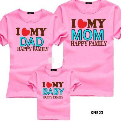 mẫu áo gia đình đẹp