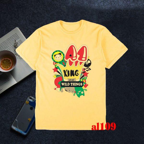áo lớp màu vàng