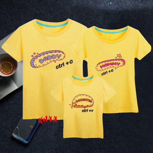 mẫu áo đồng phục gia đình đẹp