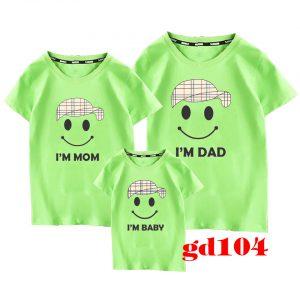 áo phông đồng phục cho gia đình