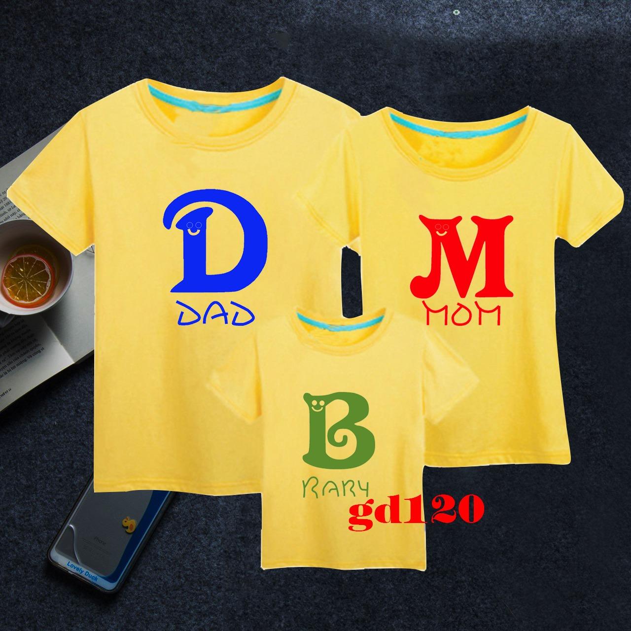 đặt mua áo thun gia đình