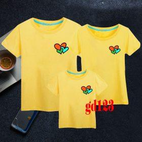 mẫu áo đồng phục gia đình mùa hè