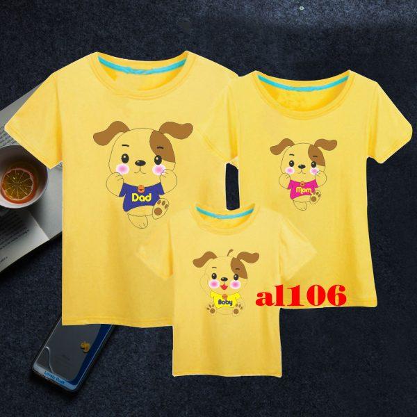 mẫu áo phông gia đình đẹp