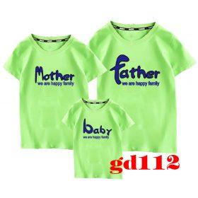 mẫu áo thun gia đình đẹp và hot