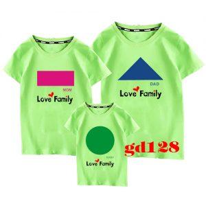 mẫu in áo đồng phục gia đình đẹp