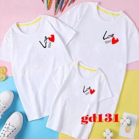thiết kế mẫu in áo gia đình