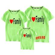 mẫu áo đồng phục gia đình 4 người