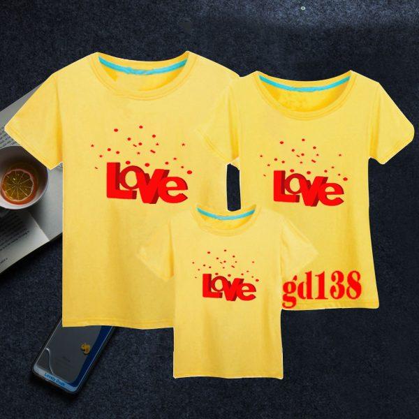 mẫu in áo gia đình