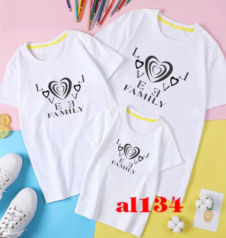 mẫu thiết kế đồng phục áo gia đình
