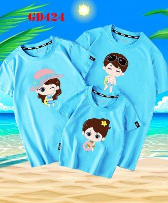 áo gia đình đi biển đẹp