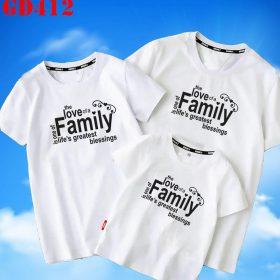 in áo thun gia đình