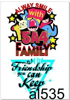 logo áo lớp a5