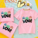 mẫu thiết kế áo thun gia đình bán chạy nhất