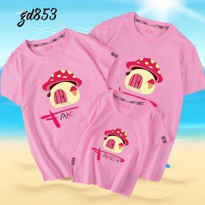 áo đồng phục gia đình mùa hè